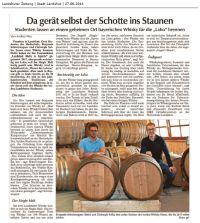 Landshuter Zeitung, Andrea Neu, erschienen am 27. Juni 2014 - Vorschaubild
